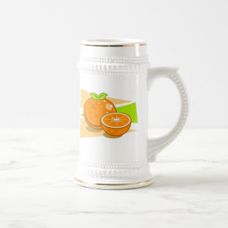 Oranges Beer Stein
