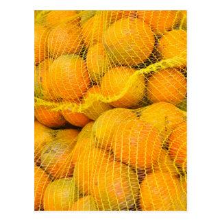 Oranges in Net Bags Postcard