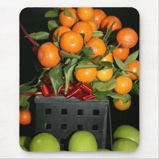 Oranges Mouse Pads