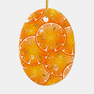 oranges christmas ornaments
