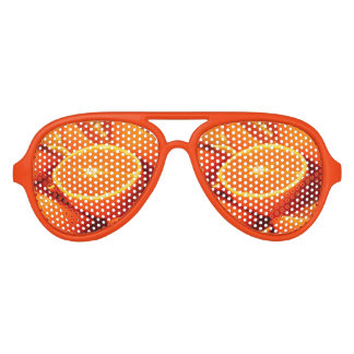 Oranges Photograph Aviator Sunglasses