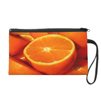 Oranges Photograph Wristlet Purse