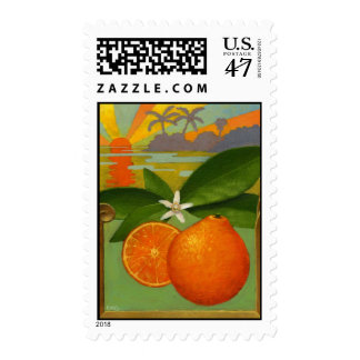 Oranges Postage Stamp