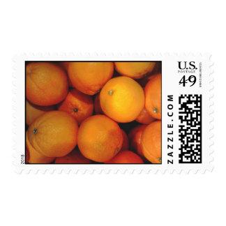 Oranges postage stamps