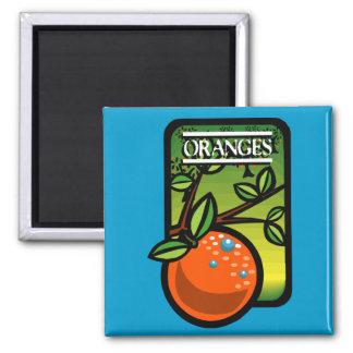 Oranges Refrigerator Magnet