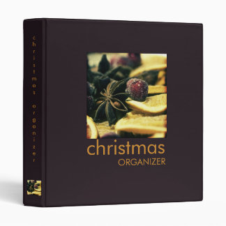 Oranges & Spices · Christmas Organizer Binder