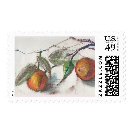 Oranges Stamp