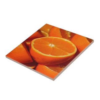Oranges. Tile