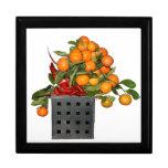 Oranges Trinket Box