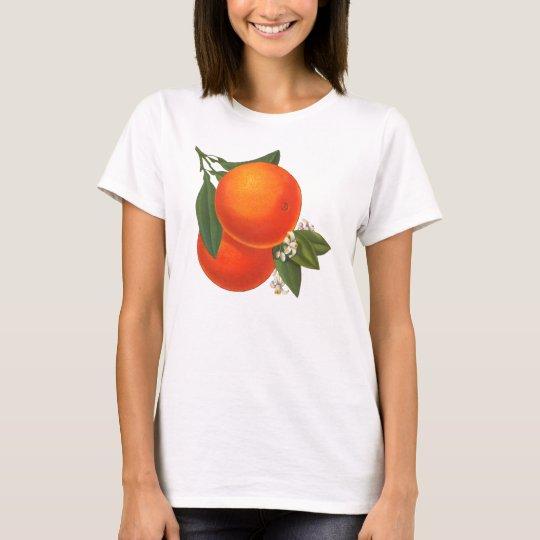 Oranges Vintage Crate Art T-Shirt