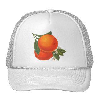 Oranges Vintage Crate Art Trucker Hat