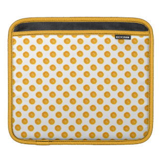 Oranges with  background sleeve for iPads