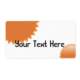 OrangeSeal Label