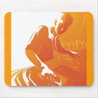OrangeVector DJ Tapete De Ratones