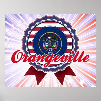 Orangeville, UT Poster