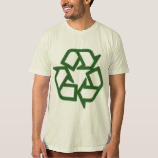Orangic Shirt with Recycle Symbol