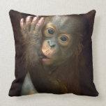 Orangután Almohada