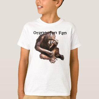 Orangután animal lindo del amante playera