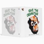 Orangutan Art Binder