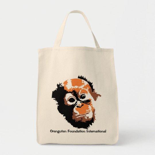 Orangutan Art Tote Bag