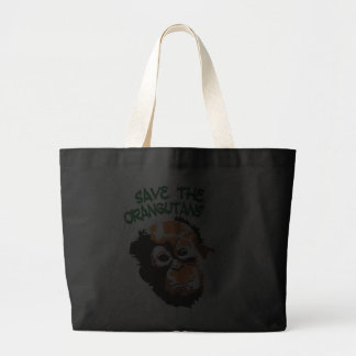 Orangutan Art Tote Bags