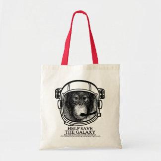Orangutan Astronaut - Help Save the Galaxy Tote Bag