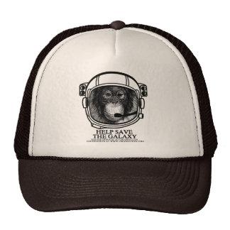 Orangutan Astronaut - Help Save the Galaxy Trucker Hat
