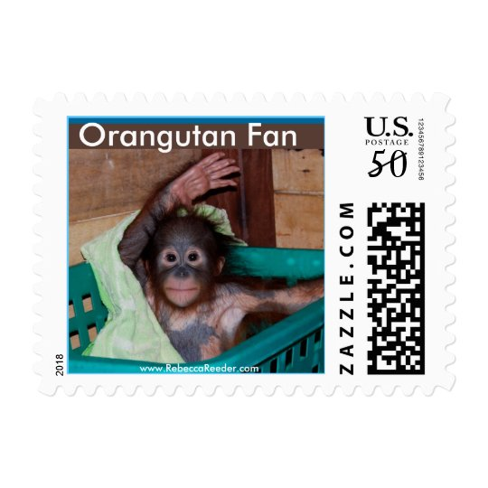 Orangutan at the Sanctuary Postage