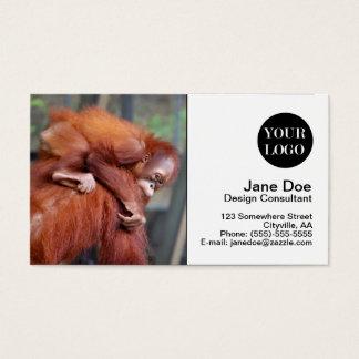 Orangutan Baby Business Card