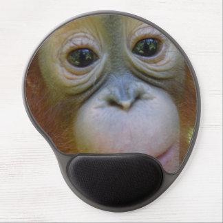 Orangutan Baby Face Gel Mouse Mat