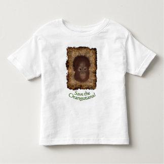 Orangutan Baby Face Kids Wildlife-support T-Shirt
