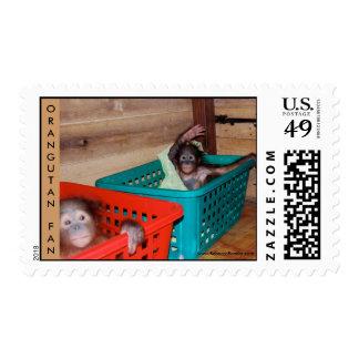 Orangutan Baby Nursery Stamps