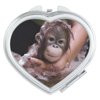 Orangutan Baby Makeup Mirror
