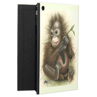 Orangutan Baby With Leaves Case For iPad Air