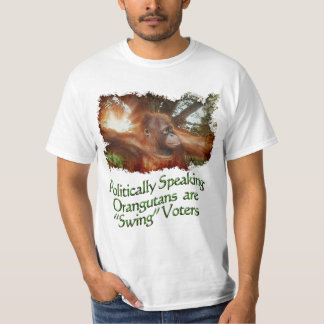 Orangutan & Borneo Jungle Funny Wildlife T-Shirt