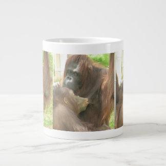 Orangutan Breastfeeding Extra Large Mugs