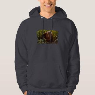 Orangutan Child 7358 Hoodie
