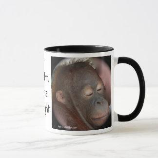 Orangutan Children's Prayer Mug