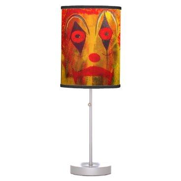 Halloween Themed Orangutan Clown Lamp