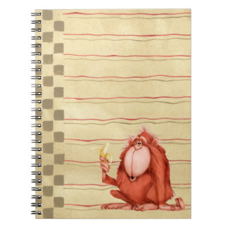 Orangután - cuaderno
