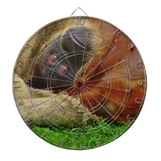 Orangutan Dartboard