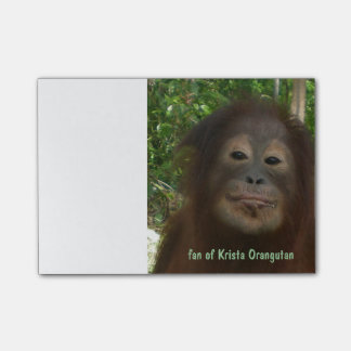 Orangután de Krista Post-it Nota