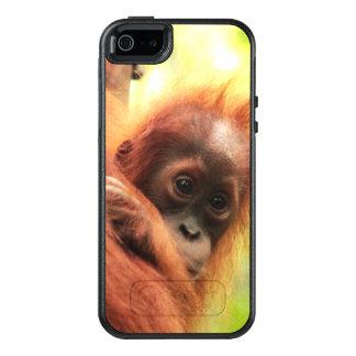 Orangután de Sumatran del bebé Funda Otterbox Para iPhone 5/5s/SE
