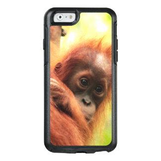 Orangután de Sumatran del bebé Funda Otterbox Para iPhone 6/6s