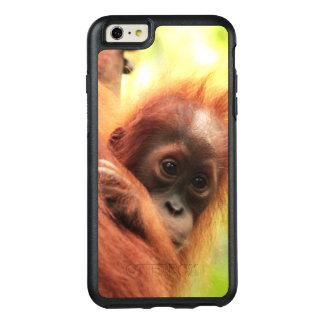 Orangután de Sumatran del bebé Funda Otterbox Para iPhone 6/6s Plus