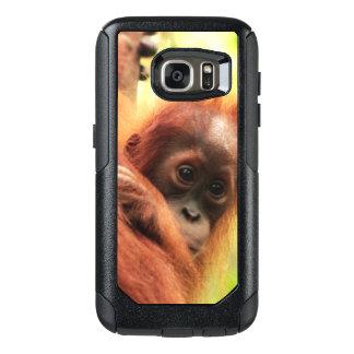 Orangután de Sumatran del bebé Funda Otterbox Para Samsung Galaxy S7