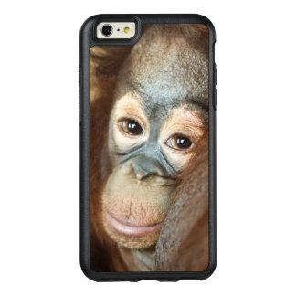 Orangután del bebé funda otterbox para iPhone 6/6s plus
