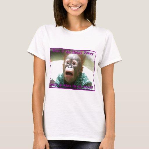 Orangután del Pokey de Hokey Playera