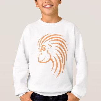 Orangután en estilo del dibujo del chasquido camisas