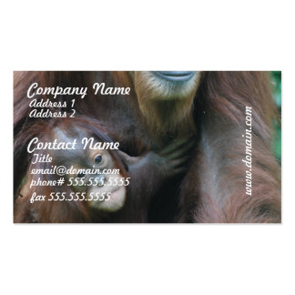 Orangutan Family Business Cards